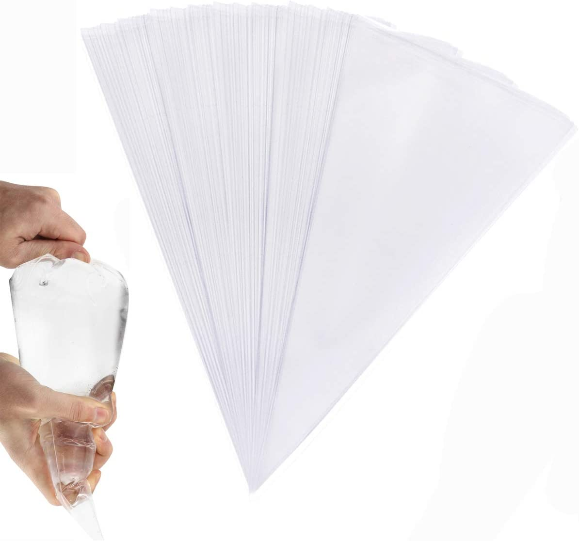 San Diego Mall DLOnline 100 Pcs Thickened Pastry Piping Brand Cheap Sale Venue Disposable Bags 16 Inch