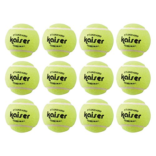 Kaiser 硬式テニスボール12P KW-326