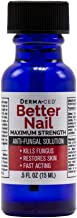 Better Nail - Maximum Strength 25% Solution for Anti Fungal Nail Support   Nail Restoring Solution for Toenail & Fingernail Fungus   .5oz or 15ml