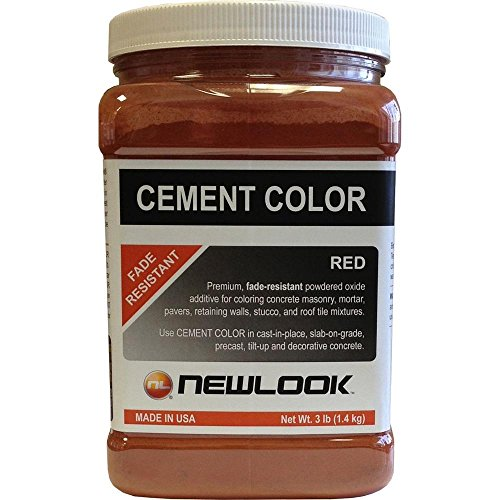 NewLook 3 lb. Red Fade Resistant Cement Color