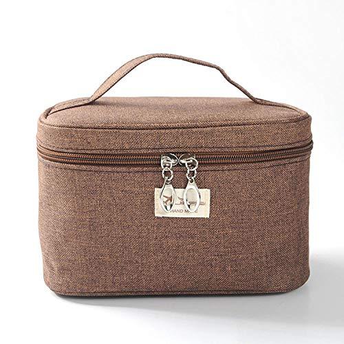 Cloth Storage Bag Cosmetic Bag Wash Bag Portable Wear Scrub Cloth Can be Customized Brown