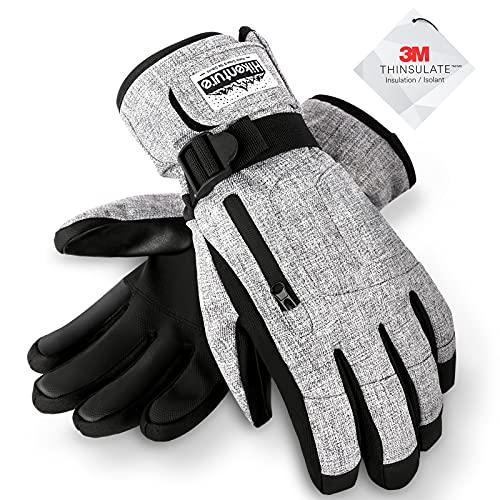 Hikenture Ski Gloves Snow Gloves for Men&Women, 3M...