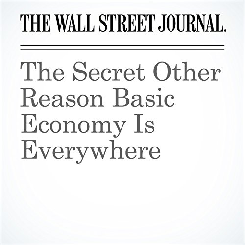 The Secret Other Reason Basic Economy Is Everywhere copertina