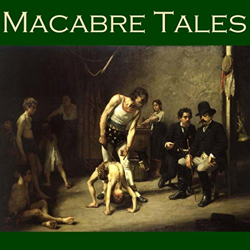 Macabre Tales audiobook cover art