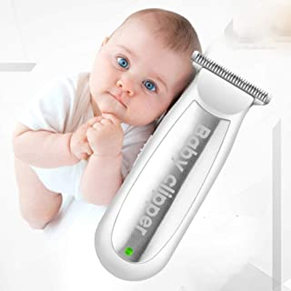Mini Electric Hair Clipper Baby USB Rechargeable Infant Hair Clipper Silent Shaver Kids Haircut