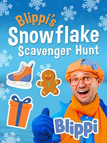 Blippi s Snowflake Scavenger Hunt