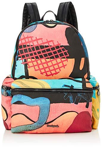 Desigual Oss Backpack Big Arty Oil Oss Backpack Big Medieval Blue