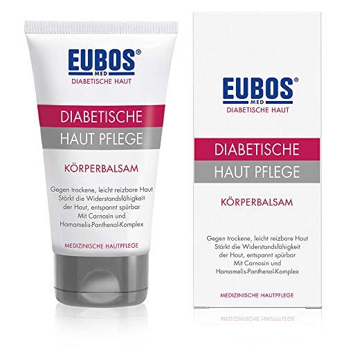 Eubos | DIABETISCHE HAUT PFLEGE Körperbalsam | 150ml | für trockene und empfindliche Haut | ohne Mineralöl | spendet tiefenwirksam und langanhaltend Feuchtigkeit