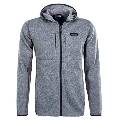 Patagonia M's LW Better Sweater Hoody Sweatshirt, Herren L Erika-Grau