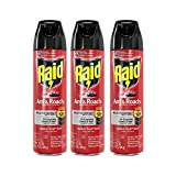 Raid Ant & Roach Killer Defense System, Outdoor Fresh Scent 17.5 Ounce (Pack of 3)