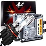 WinPower HB3/9005 55W Auto Kit Xenon HID con Zavorra e CAN-Bus Super decoder Faro Sostituzione Lampadina 6000K Puro Bianca, 2 pezzi