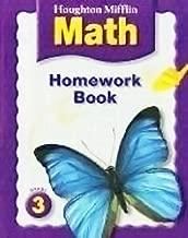 Houghton Mifflin Math: Homework Book (Consumable) Grade 3