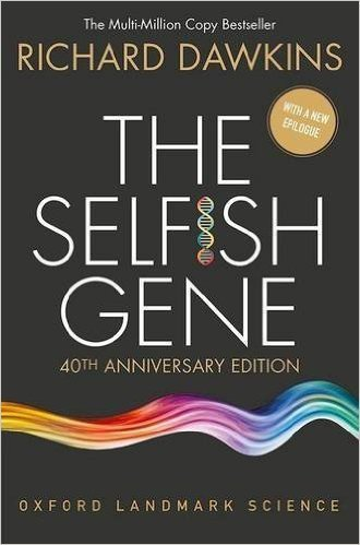 The Selfish Gene: 40th Anniversary Edition (Oxford Landmark Science) by Richard Dawkins 4 edition (book cover)