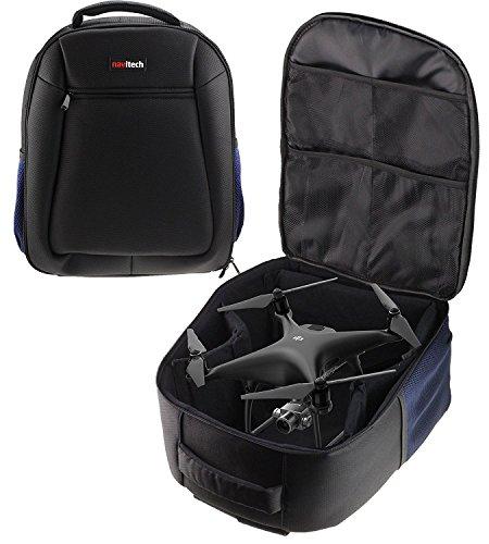 Navitech Rugged Black Carry Backpack/Rucksack/Case for TheAir Hogs Remote Control Star Trek U.S.S Enterprise NCC-1701-A