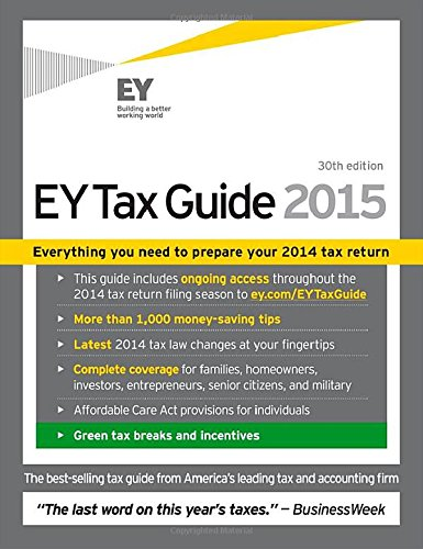 Image OfEY Tax Guide 2015 (Ernst & Young Tax Guide)