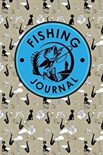 Fishing Journal: Anglers Log, Fisherman's Journal, Book Fish, Fishing Log Template, Cute Paris & Music Cover (Volume 51)
