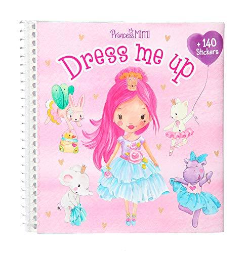 Depesche- Libro de Pegatinas Dress me up Princess Mimi, Aprox. 16 x 15,5 x 1 cm. (11158)