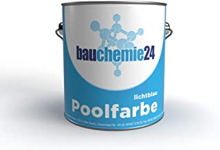 bauchemie24 Zwembadverf, zwembadverf RAL5012 lichtblauw (10L, lichtblauw)