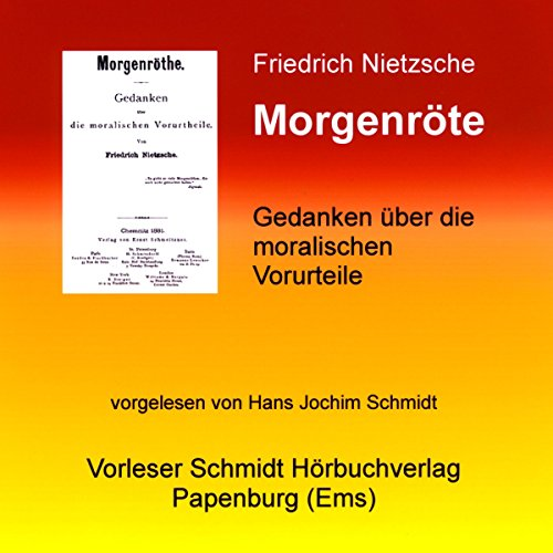 Morgenröte audiobook cover art