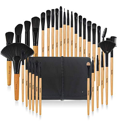 32 Sets of Professional Makeup Brushes, Foundation, Eyeshadow, Lipstick, Powder Makeup Brush Tool