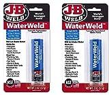 J-B Weld 8277 WaterWeld Epoxy Putty Stick, 2 Oz.