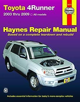 Toyota 4Runner  2003-2009  Haynes Repair Manual  USA