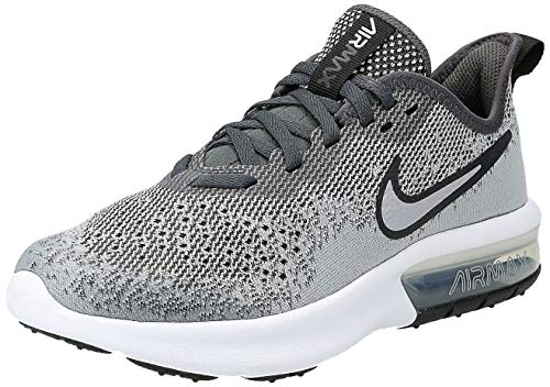 Nike Air Max Sequent 4 (GS), Scarpe da Fitness Uomo, Multicolore (Wolf Grey/Wolf Grey/Anthracite/White 003), 40 EU