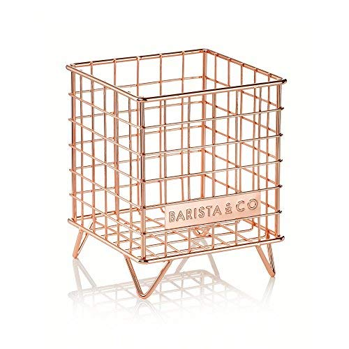 Barista & Co Pod Käfig Kaffee-Kapselhalter, elektrische copper-parent Electric Copper