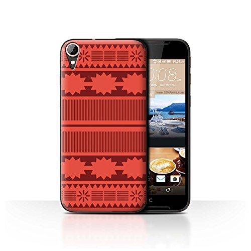 Stuff4® Hülle/Case für HTC Desire 830 / Aztek/Prinzessin Kleid Muster/Karikatur Polynesische Prinzessin Kollektion
