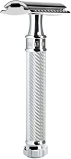 MÜHLE Traditional Chrome 'Twist' Safety Razor, Closed Comb