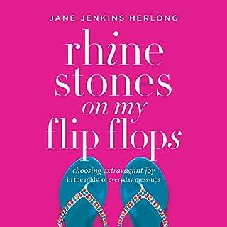 Rhinestones on My Flip-Flops audiobook cover art