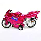 FunSiper Motor Bike Toys for Kids Boys & Girls / Motorcycle Toy for Kids (Red)