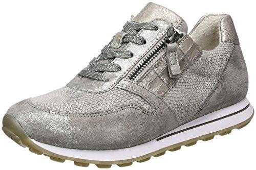 Gabor Shoes Damen Comfort Sneaker, Grau (grau Kombi 21), 38 EU
