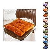 Sitzkissen 40 x 40,Worsendy Garten Sitzauflage,Besonders stark gepolstertes,weiches...