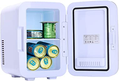ZOKOP Electric Mini Portable Fridge Cooler & Warmer (6 Liter / 0.21 Cuft / 8 Can) AC/DC Portable Thermoelectric System Gr