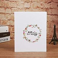 Diy Wedding Photo Album Handmade Travel Theme Photo Albums Family Memory Record Scrapbook Album Gift, a
