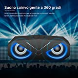 Zoom IMG-2 altoparlante bluetooth con luci led