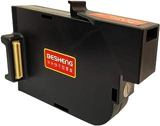 BESHENG Original Solvent Fast Dry Ink Cartridge Replacement for BESHENG PT2000SE Handheld Inkjet Printer (Black)