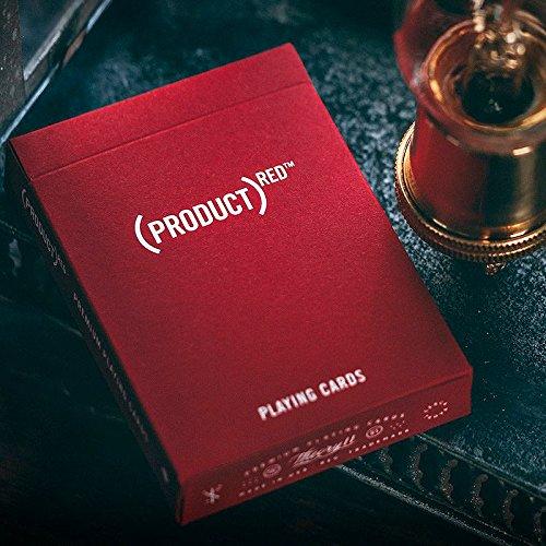 Mazzo di Carte (Product) Red Playing Cards - Mazzi di Carte da Gioco - Giochi di Magia