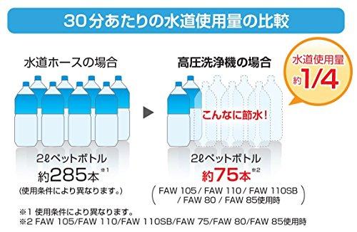 HiKOKI(ハイコーキ)『家庭用高圧洗浄機FAW105(S)』