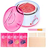 Waxing Kit Wax Warmer for Hair...