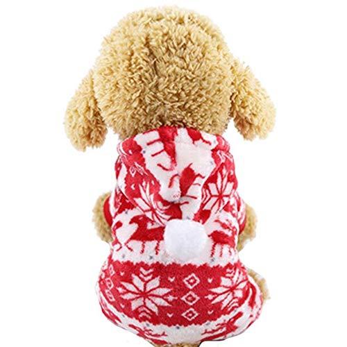 Toruiwa. Hundepullover,Weihnachten Winter Hund Pullover/Weste,Haustier Strick Pullover für Kleine...