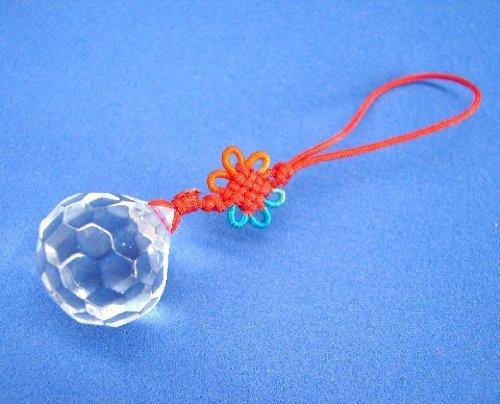 Feng Shui Boule de cristal avec Mystic Nœud