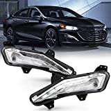 ACANII - For 2019-2020 Chevy Malibu Bumper Turn Signal Light w/LED DRL Driving Fog Lamp Replacement Driver & Passenger