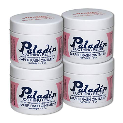 (4pk - Save 20%) Paladin Ointment, The Diaper Rash Cream That Actually Works! There is a Difference.