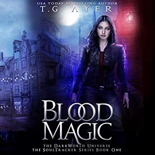 Blood Magic audiobook cover art