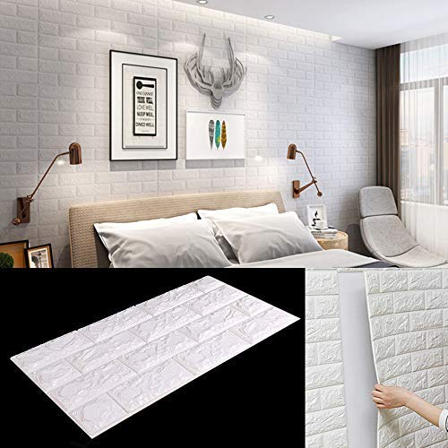 baratos y buenos MorNon 3D Wallpaper PVC 3D Panel Adhesivo de pared Panel de pared Adhesivo de pared Wall… calidad