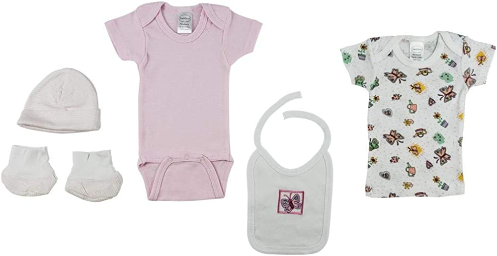 bambini 7 Piece Clothing Layette Gift Set