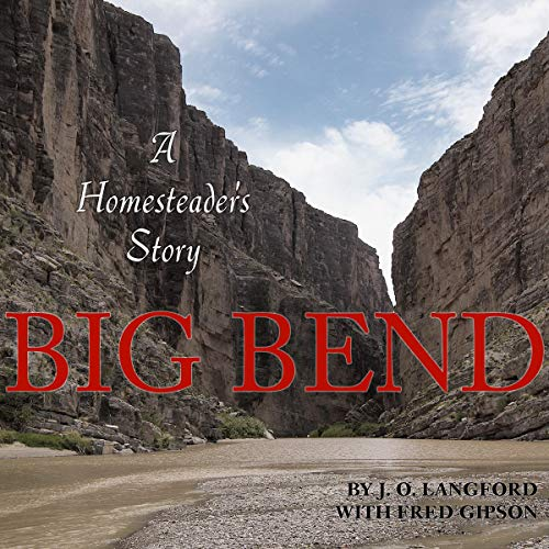 Big Bend audiobook cover art
