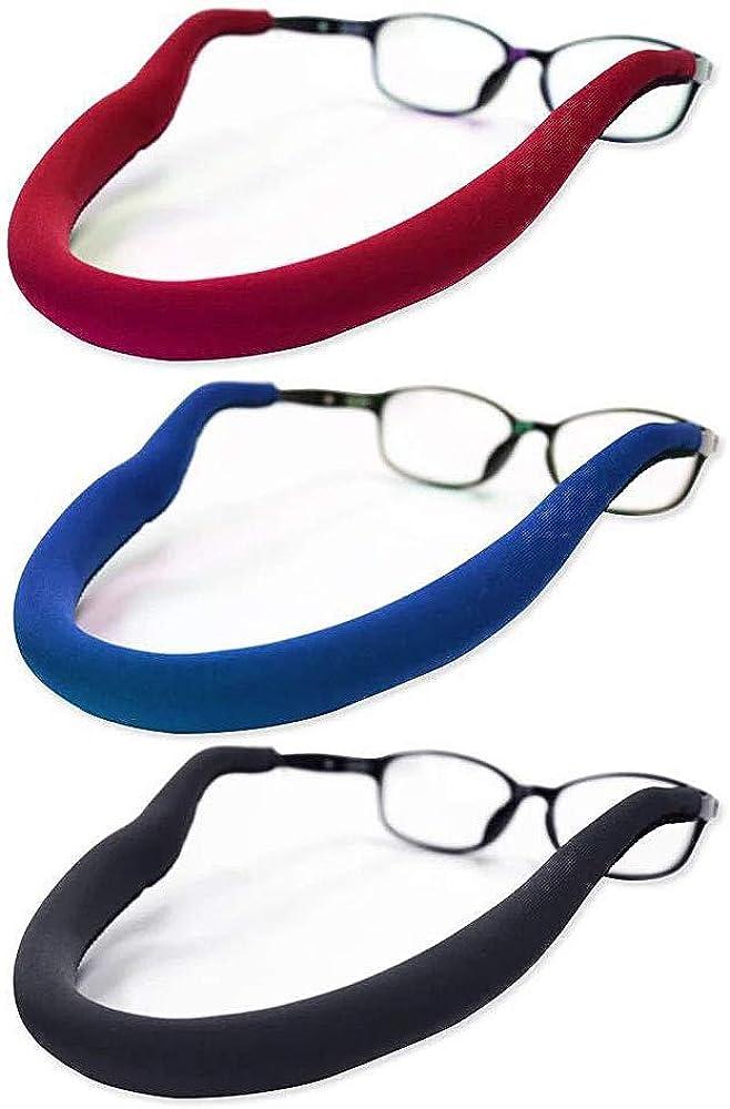 Floating Glasses Straps for Women Men Soft Safety Eyewear Retainers for Water Sports Fishing Biking Hiking